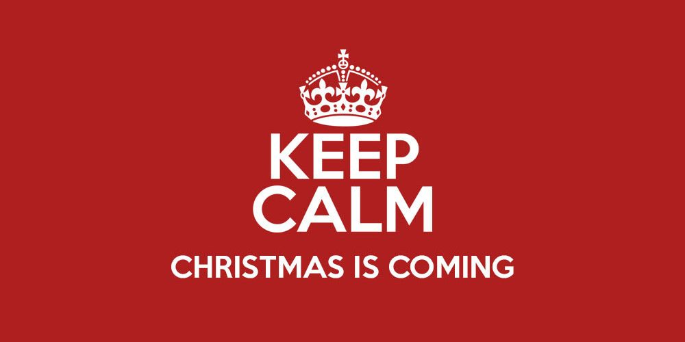 Keep Calm, Christmas is Coming - BlueVision Home Automation